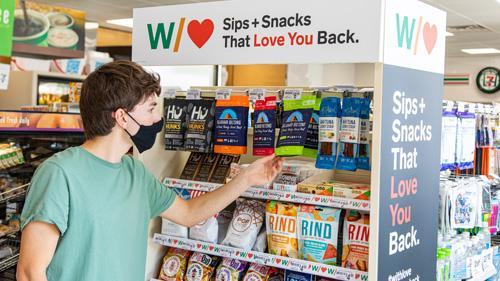 7-Eleven's 'Sips & Snacks' assortment