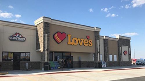 Love's Travel Stop in Kermit, Texas