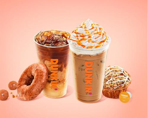 Dunkin' seasonal menu