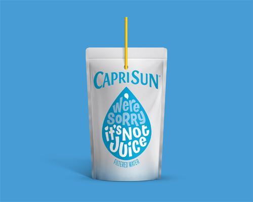 Capri Sun Filtered Water