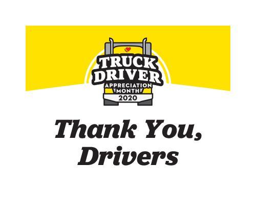 Love's National Truck Driver Appreciation Week