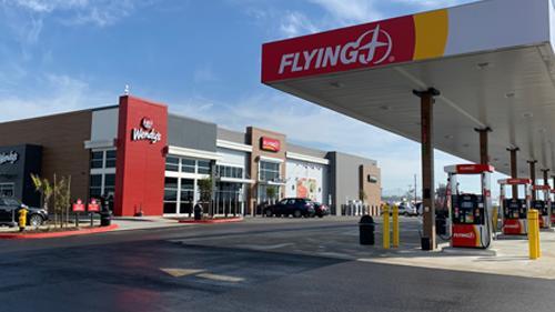 A Flying J travel center