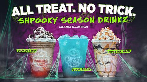 Sheetz Halloween drinks