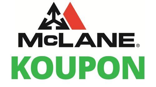 Logos for McLane and Koupon