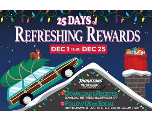 25 Days of Refreshing Rewards