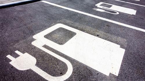 EV charging spots