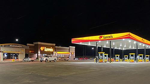 Love's welcomed customers at three new travel stops, including one in Valley City, N.D.