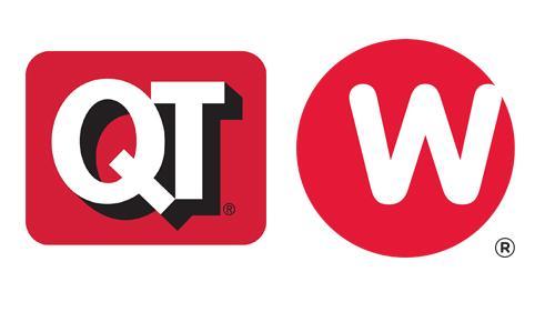 Logos for QuikTrip and Weigel's
