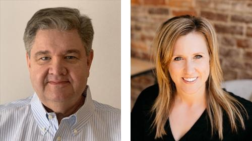 StrasGlobal added Bill Reilly, left, and Jessica Williams to its Resources for Retailers team.