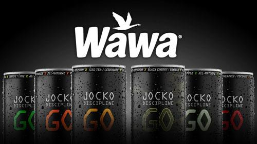 Pennsylvania-based Wawa Inc. is bringing JOCKO GO energy drinks to all its 900-plus convenience stores.