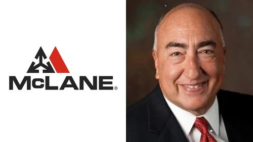 Tom Zatina retired from McLane Co. Inc. after more than 15 years.