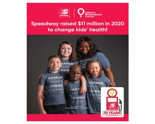 Speedway & Children'sMiracle Network Hospitals campaign