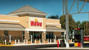 Wawa store exterior