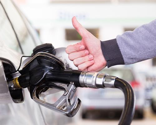 Fuel pump thumbs up