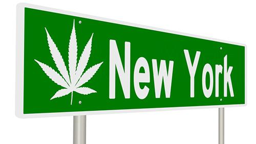 Marijuana legalization in New York