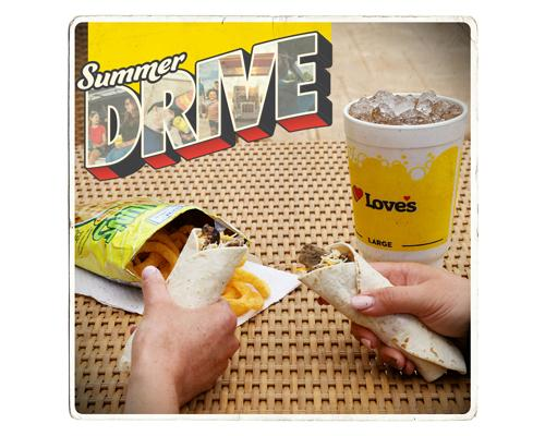Love's Travel Stops Summer Drive promotion