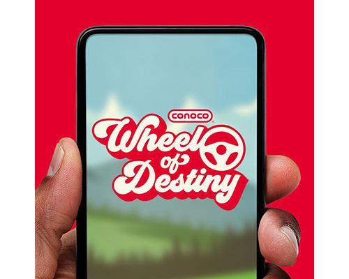 Conoco's Wheel of Destiny game