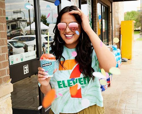 7-Eleven summertime Slurpee