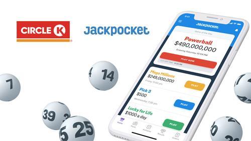 Circle K and the Jackpocket app