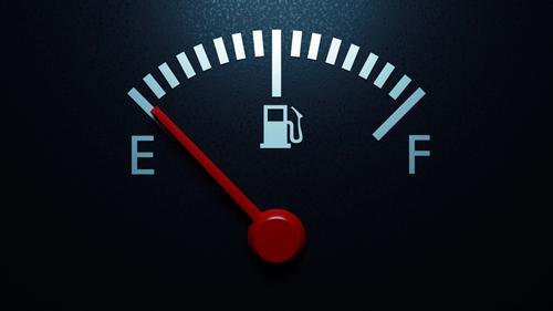 A fuel gauge