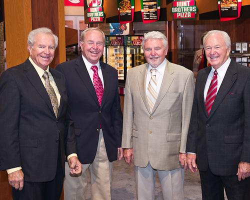 Brothers Don, Charlie, Lonnie and Jim Hunt (L to R)