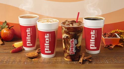 Pilot Flying J's fall coffee drinks