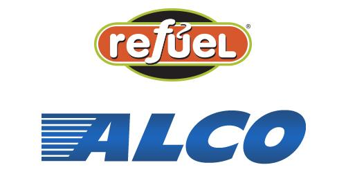 Logos for Refuel and ALCO
