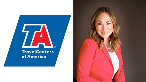 Kaitlin Wolfe, vice president of merchandising at TravelCenters of America Inc.
