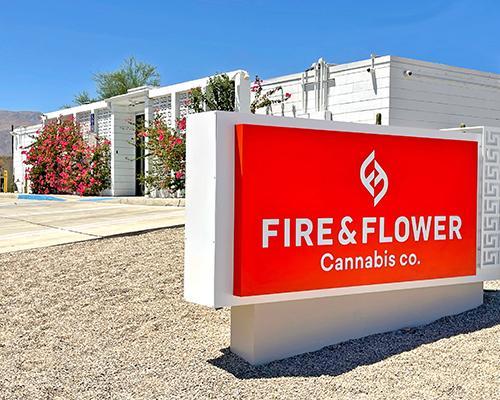 Fire & Flower U.S. retail store