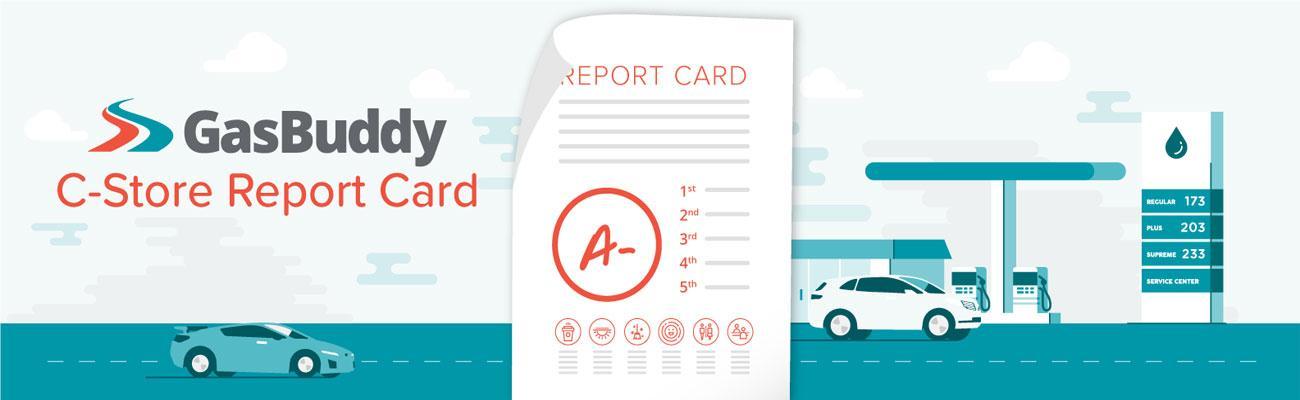 GasBuddy C-store Report Card logo