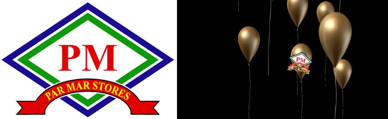 Par Mar Logo with gold balloons