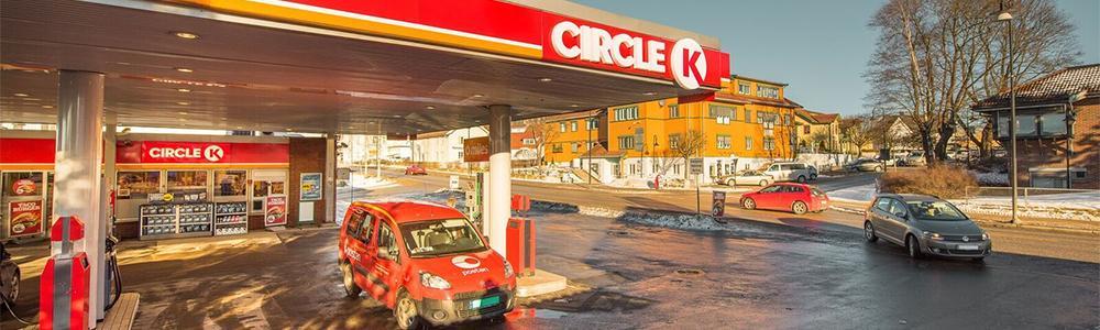 exterior of Circle K