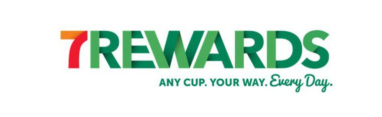 Logo for 7-Eleven's 7Rewards loyalty program