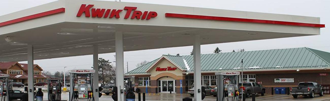The exterior of a Kwik Trip location