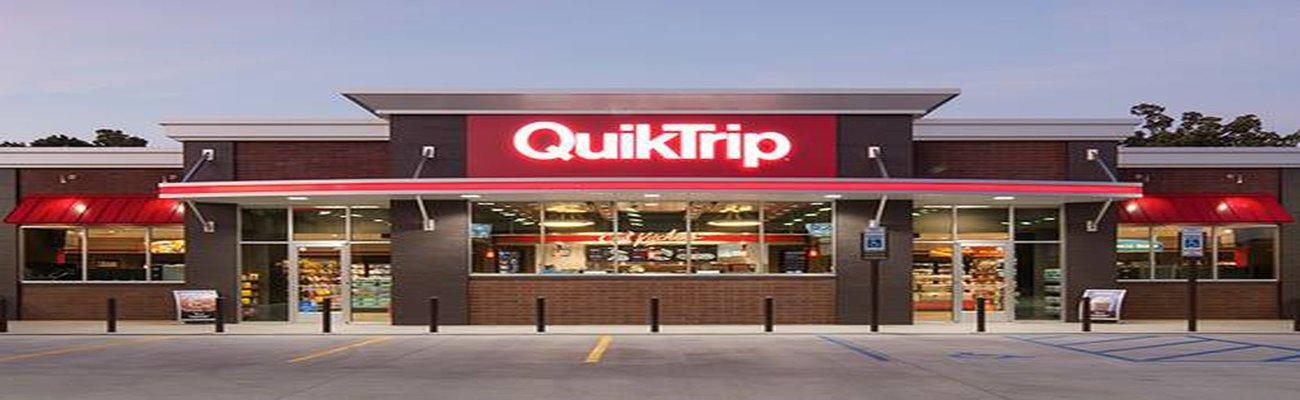 The exterior of a QuikTrip convenience store