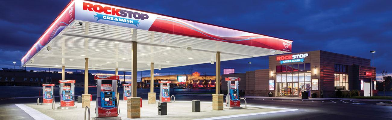 RockStop Gas & Wash forecourt & store