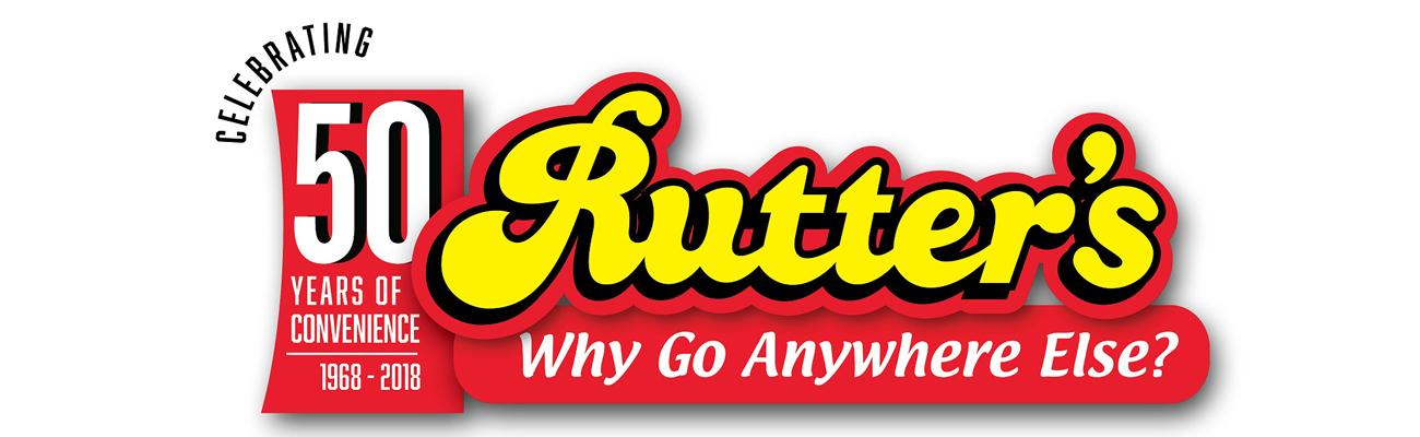 Rutter's 50th anniversary banner