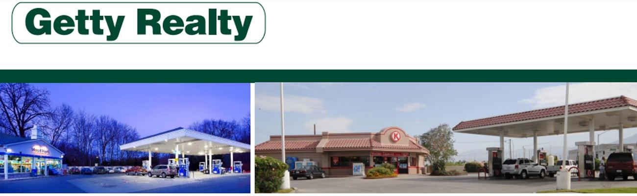 Properties in Getty Realty's net-lease portfolio