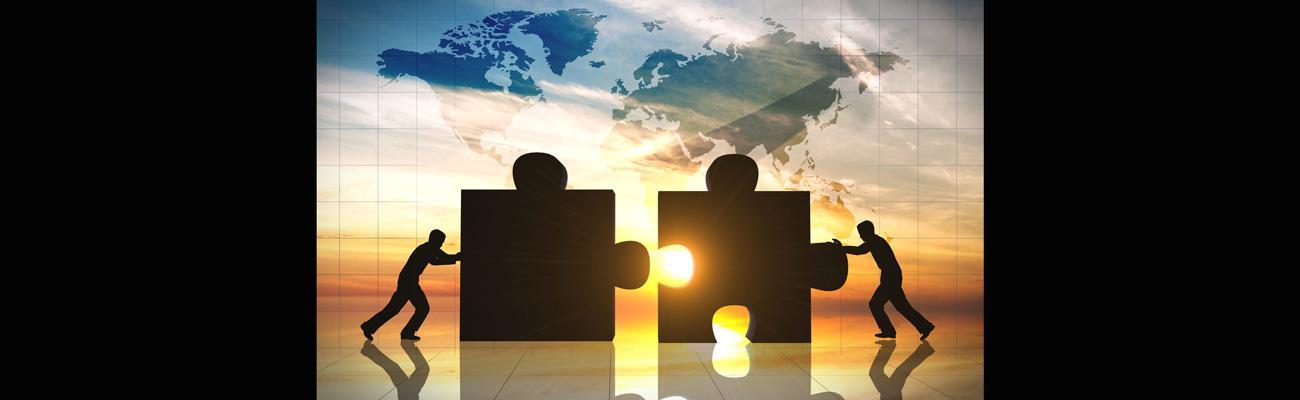 M&A puzzle pieces
