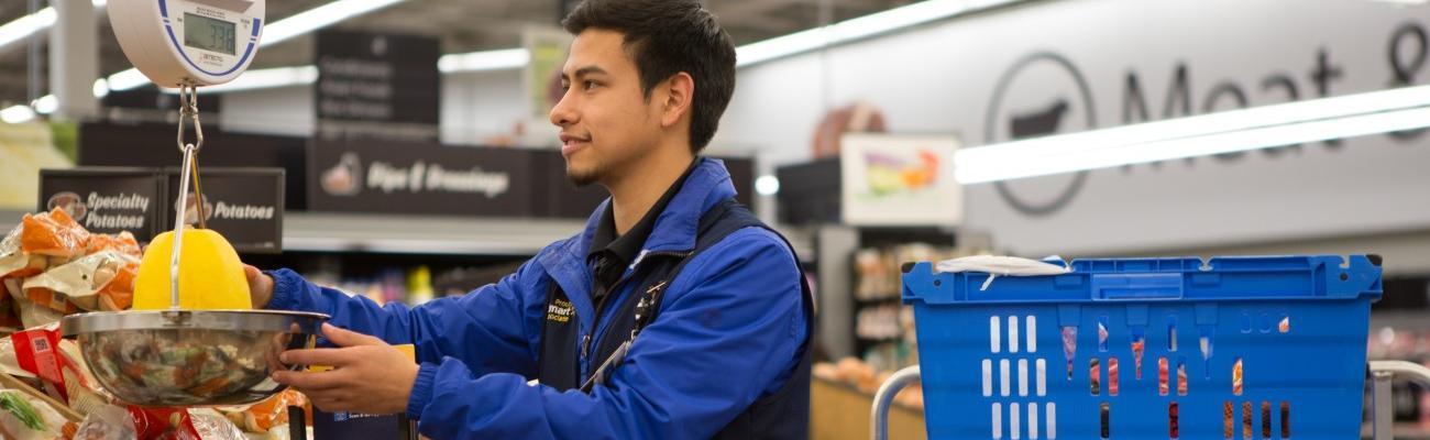 Walmart delivery shopper