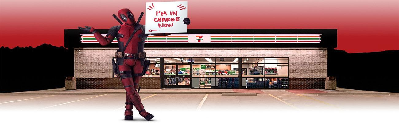 Deadpool at 7-Eleven hero