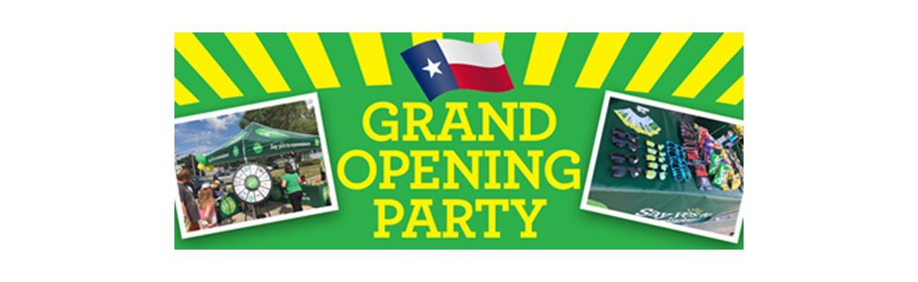 Yesway Grand Opening Party Banner
