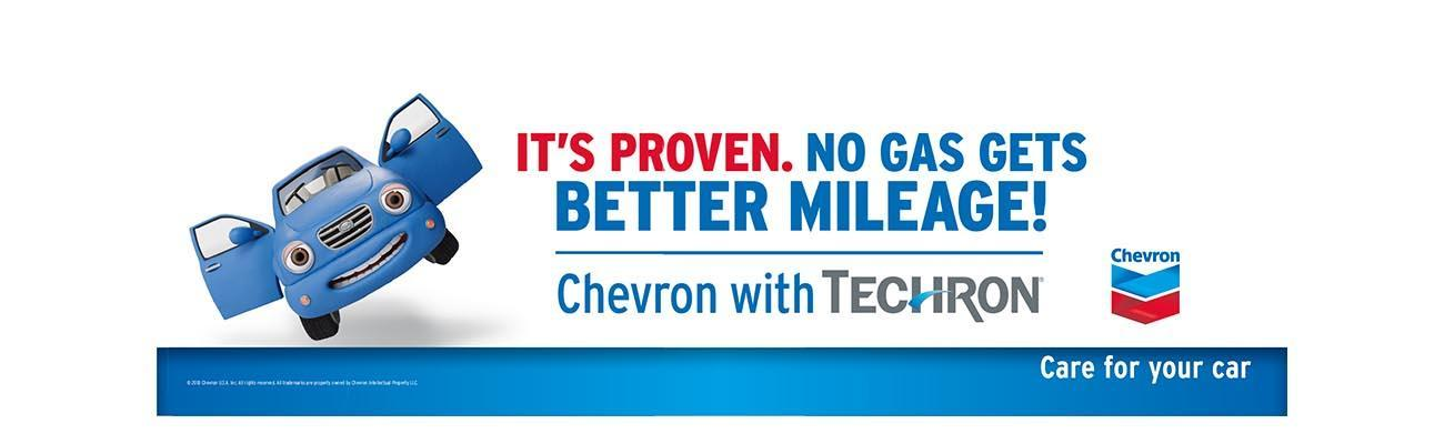 Chevron with Techron