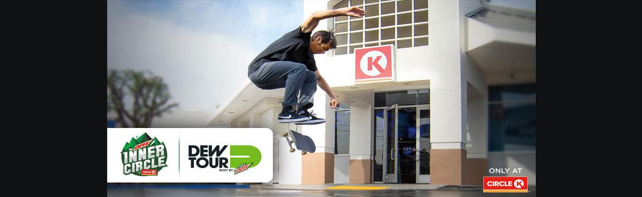 Circle K Inner Circle Dew Tour sponsorship