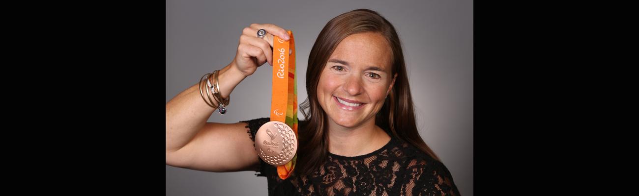 Paralympian Melissa Stockwell