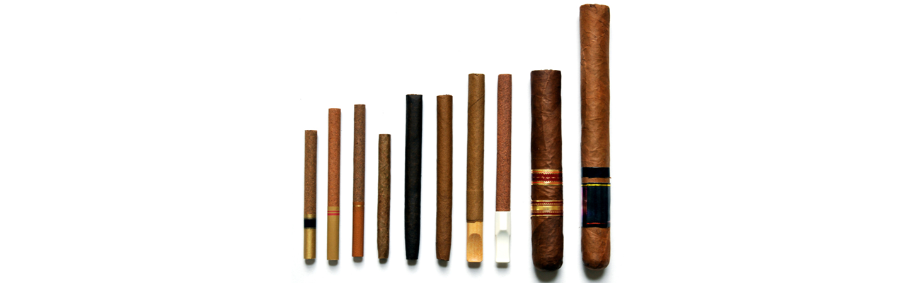 various kinds of cigars