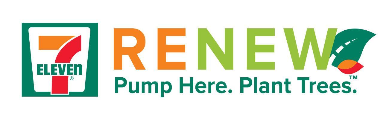 7-Eleven RENEW logo hero image