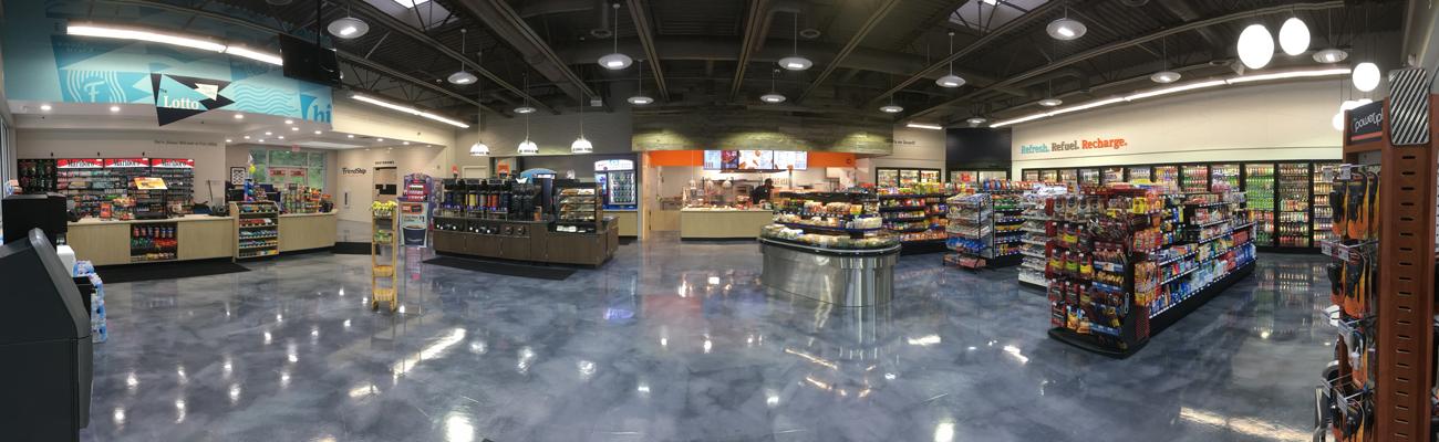 Inside FriendShip Kitchen store