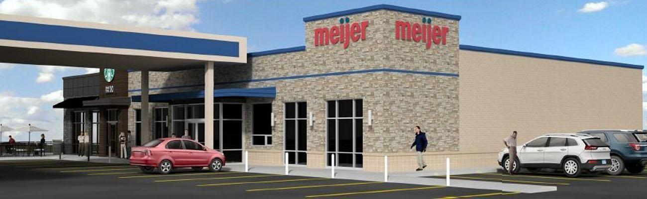 Meijer's latest convenience store and gas station design