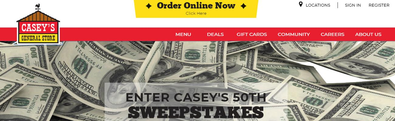 website for casey's general stores